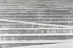 Abstract concrete grey stair step background. Royalty Free Stock Image