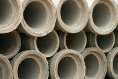 Abstract Concrete Pipe Royalty Free Stock Image