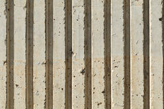 Abstract concrete ridges Royalty Free Stock Images