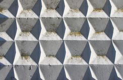 Abstract concrete wall Stock Image