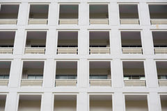 Abstract condo apartment windows Royalty Free Stock Photo