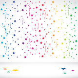 Abstract Confetti background Royalty Free Stock Photography