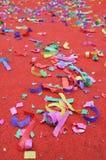 abstract confetti przyjęcia Zdjęcia Royalty Free