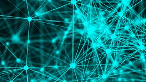 Abstract connection dots. Technology background. Network concept Royalty Free Stock Photo