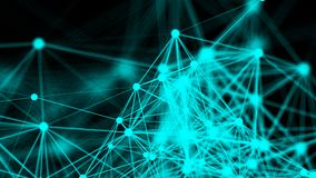 Abstract connection dots. Technology background. Network concept Royalty Free Stock Images