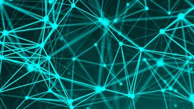 Abstract connection dots. Technology background. Network concept Royalty Free Stock Image