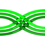 Abstract connection, network and togetherness concept, 3d. Abstract connection, network and togetherness concept, green network, 3d illustration Stock Photos