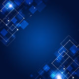 Abstract Connections Blue Technology Background Royalty Free Stock Images