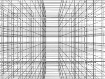 Abstract Construction Of Grid Wire Vector Stock Photo