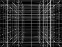 Abstract Construction Of Grid Wire Vector Royalty Free Stock Image
