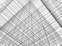 Abstract Construction Of Grid Wire Vector Stock Image