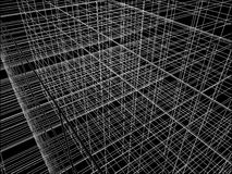 Abstract Construction Of Grid Wire Vector Royalty Free Stock Photos