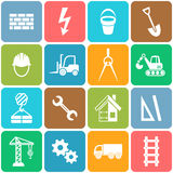 Abstract construction icons Royalty Free Stock Photo