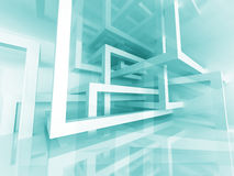 Abstract Construction Structure Architecture Design Background Stock Photo