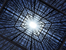 Abstract construction structure Royalty Free Stock Image