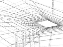 Abstract Constructions Of Line Vector Stock Image