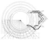 Abstract Constructions Of Line Vector Stock Images