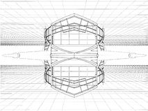 Abstract Constructions Vector 11 Royalty Free Stock Photo