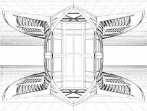 Abstract Constructions Vector 12 Royalty Free Stock Image