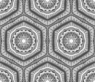 Abstract Contrast Tribal Pattern Stock Photos