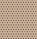 Abstract cookies cream pattern wallpaper Royalty Free Stock Image