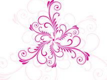 Abstract cool pattern tattoo Royalty Free Stock Photos