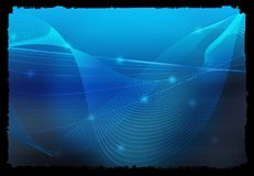 Abstract Cool waves Royalty Free Stock Image