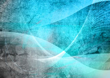 Abstract Cool waves Stock Image