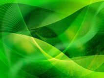 Abstract Cool waves Stock Photo