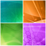 Abstract Cool waves Royalty Free Stock Photos