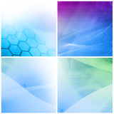 Abstract Cool waves background texture Royalty Free Stock Image