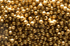 Abstract copper Bead Background Royalty Free Stock Photography