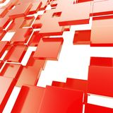 Abstract copyspace background made of glossy plates Stock Images