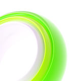 Abstract copyspace background of torus Royalty Free Stock Photo