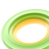 Abstract copyspace torus background Royalty Free Stock Photo