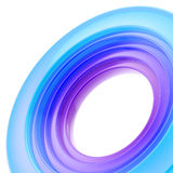 Abstract copyspace torus background Stock Photos