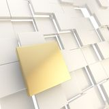 Abstract copyspace white square plate background Royalty Free Stock Photo