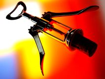 Abstract Corkscrew  Design Royalty Free Stock Image