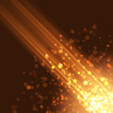 Abstract corner glitter circle and line background Royalty Free Stock Photo