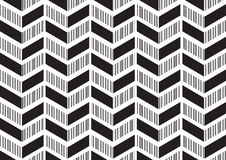 Abstract corner modern design pattern background in black white colour theme Stock Photography