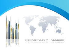 Abstract corporate background. Clip-art Vector Illustration