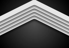 Abstract corporate background with arrows Royalty Free Stock Photo