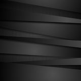 Abstract corporate black stripes tech background Stock Photo