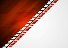 Abstract corporate bright tech background Royalty Free Stock Photos