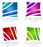 Abstract corporate business logo Royalty Free Stock Images