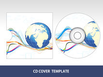 Abstract corporate cd cover Royalty Free Stock Photos