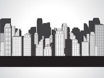 Abstract corporate city buildings Stock Image