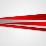 Abstract corporate striped background Stock Photography