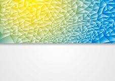 Abstract corporate vector design illustration Stock Photography