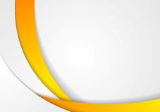 Abstract corporate wavy backdrop Royalty Free Stock Image